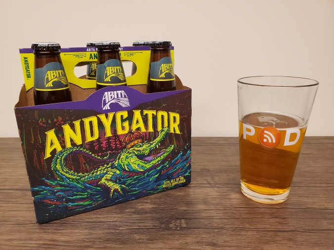 Andygator by Abita Brewing Company